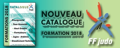 Catalogue des formations FFJDA 2018