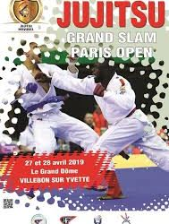 7 bretons au Grand Slam Ju Jitsu de Paris
