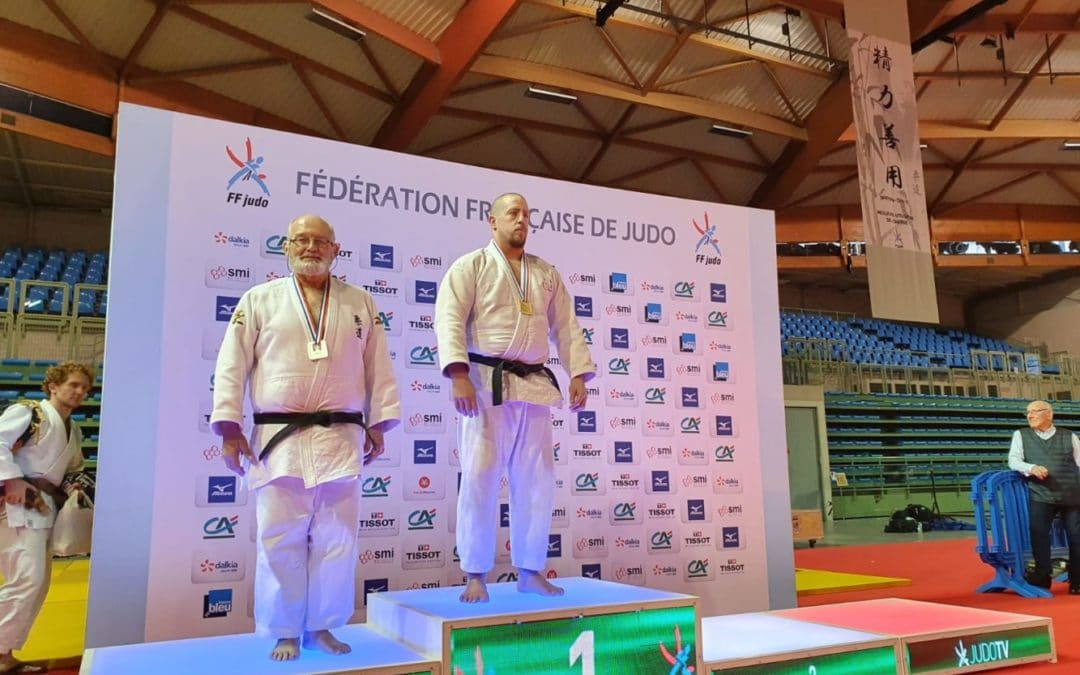 Jason GRANDRY champion de France para judo